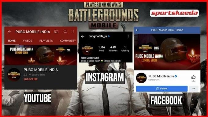 PUBG MOBILE INDIA के Social Media Handle की लिस्ट जाना जरुरी