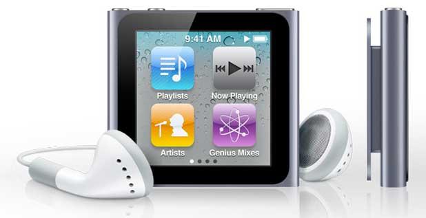 2 Version 6th Generation 1 Apple Nano Ipod
