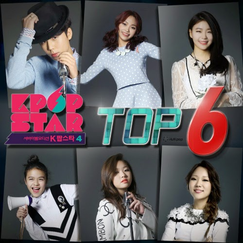 [Single] Various Artists – KPOP Star Season 4 TOP6