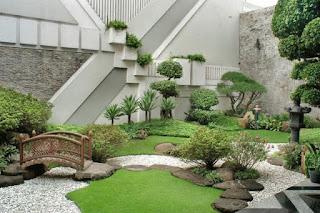 Taman jepang yang di buat oleh tukang taman surabaya / tukangtamansurabaya.info