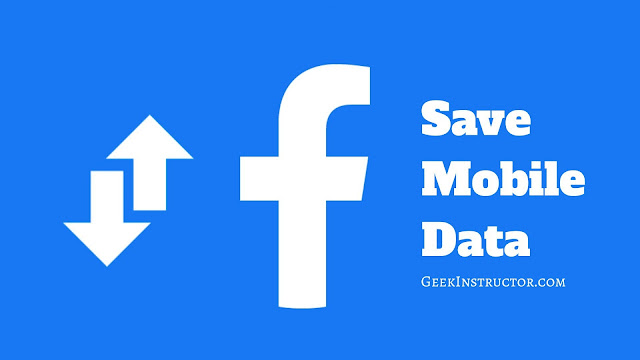 Reduce data usage on Facebook