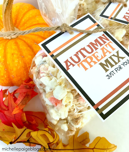10 Fall Snack Mixes