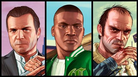 شخصيات لعبة جاتا 5 الجديدة