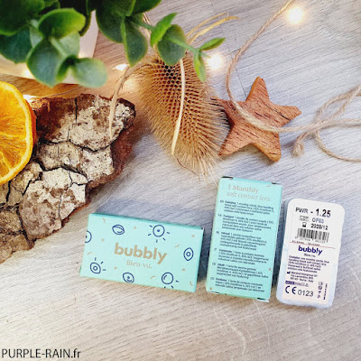 Blog PurpleRain - Lentilles de contact Bubbly