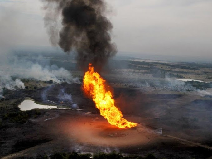 Many Died As Shell pipeline explodes in Rivers