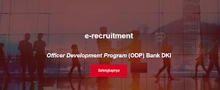 Lowongan Kerja BUMN Bank Terbaru Bank DKI Officer Development Program (ODP) Bank DKI