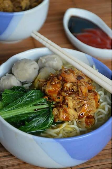Resep Mie Ayam Bakso