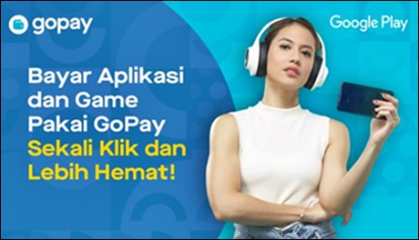 Bayar aplikasi pakai Gopay