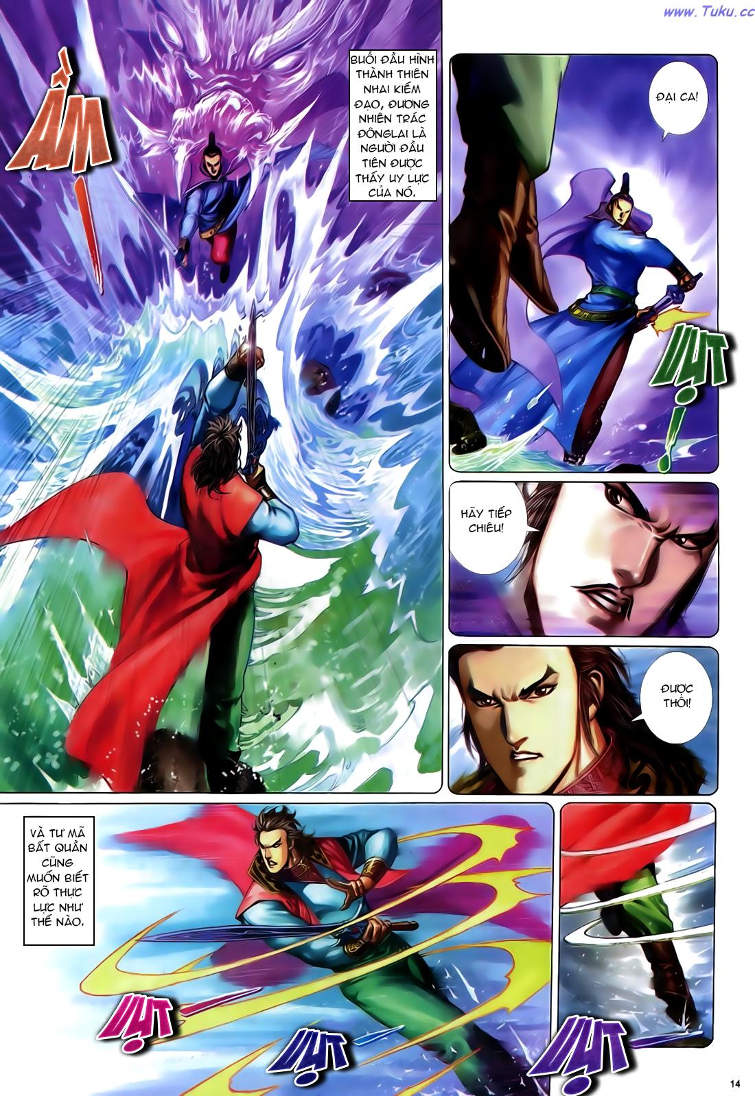 Anh hùng vô lệ Chap 24 trang 15