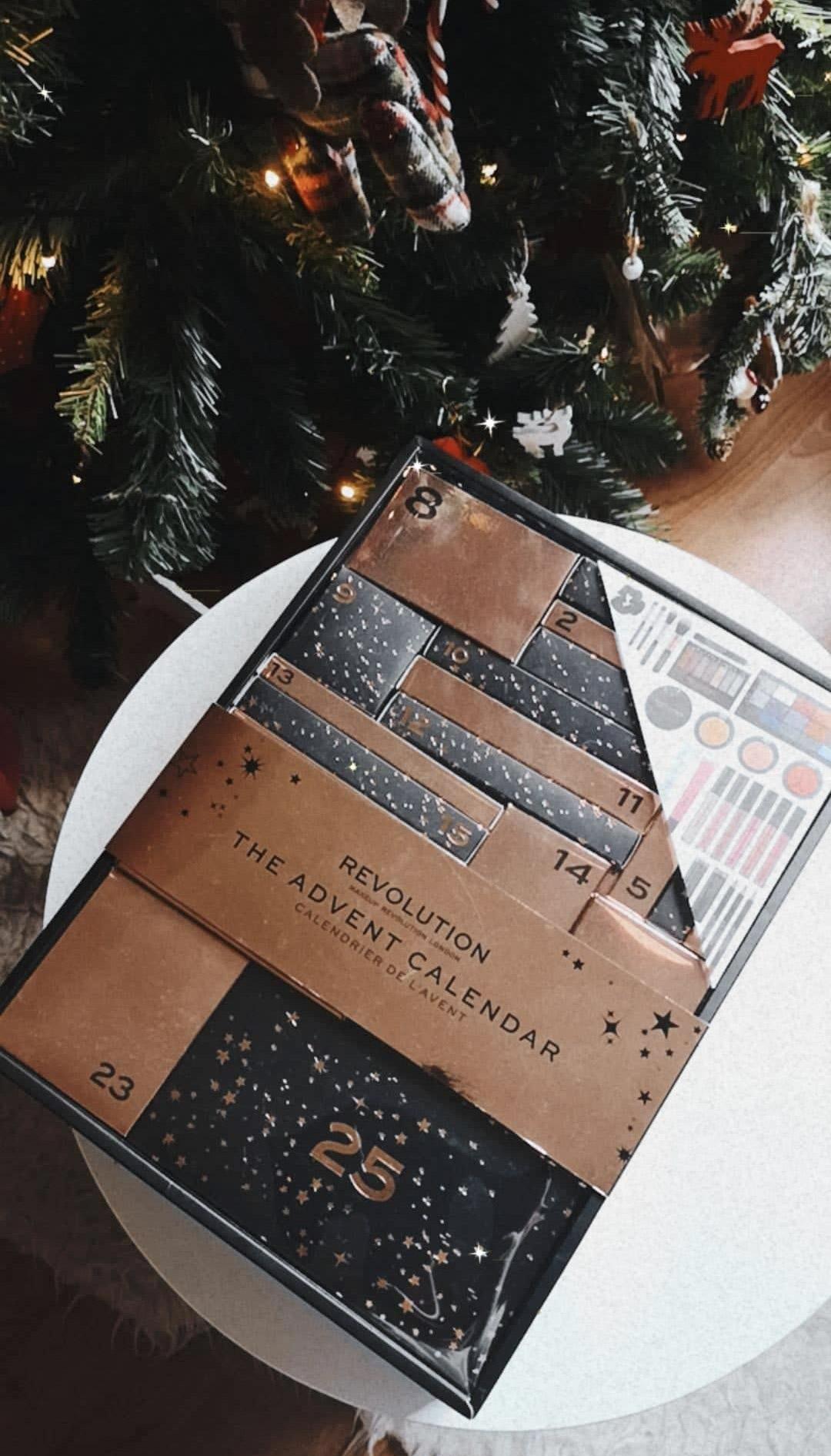 Calendario adviento makeup revolution