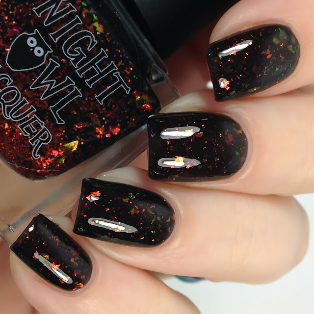 Night Owl Lacquer-Now I'm a Wizard