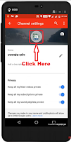 how to change youtube profile picture from phone