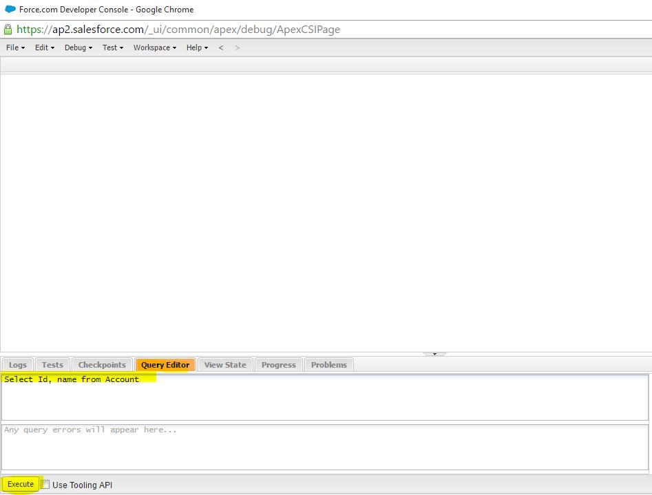 Salesforce Apex Code Development Tools P1: Salesforce