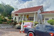 Bhakti Brimob Aceh Untuk Masyarakat Semprot Disinfektan Menghadapi New Normal