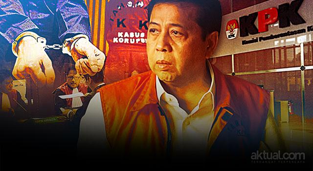 KPK Pikir-pikir soal Pengajuan Justice Collaborator Novanto