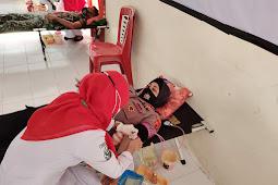 Rositah Umasugi Pimpin Baksos Donor Darah Sambut HUT Bhayangkara ke-75