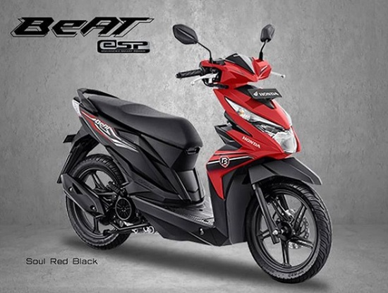 All New Honda Beat Merah