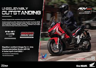 kredit sepeda motor Honda murah terbaru