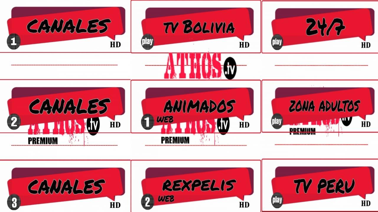 الاول لمشاهدة القنوات اللاتينية لجميع الفئات مجانا/Athos-tv