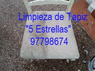 ANTES Y DESPUÉS LIMPIEZA DE TAPIZ