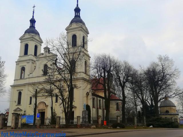 Kościół parafialny pw św. Benedykta Opata i św. Anny w Srocku woj. łódzkie - CZYTAJ DALEJ