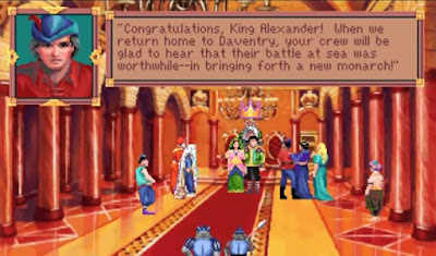 Huevo de Pascua King's Quest VI - posibles finales