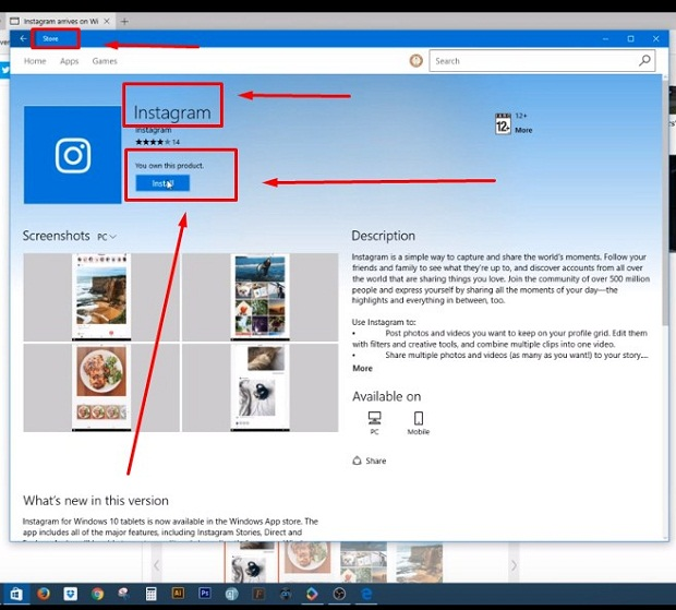 Cara DM Instagram di PC/Laptop Memakai Windows 10 Terbaru 2019 2