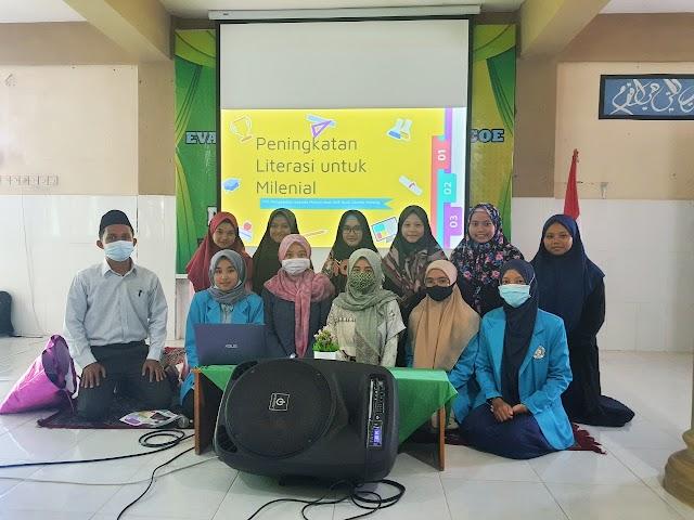 Dosen IBU Tingkatkan Kemampuan Literasi Siswa SMK Assalam Malang
