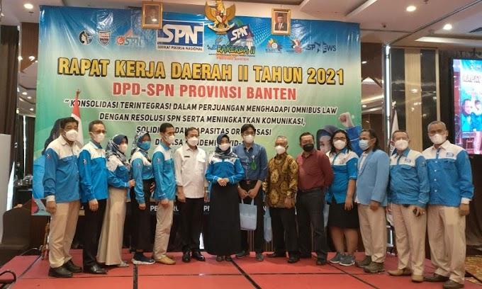 Evaluasi Kinerja Organisasi, DPD SPN Provinsi Banten Gelar Rakerda ke II