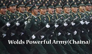 China has the world's strongest military, India at a fourth-place: Military Direct's study.