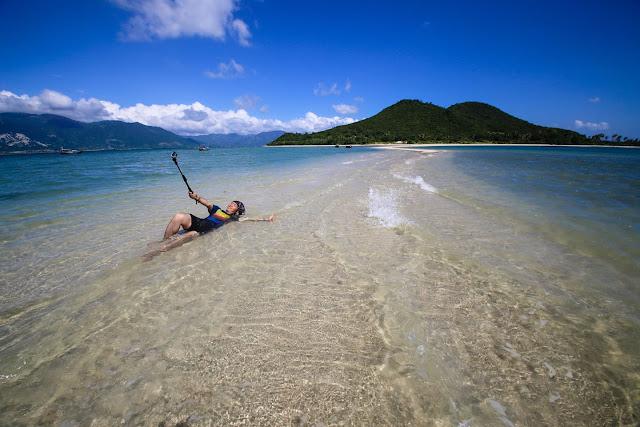 Đảo Điệp Sơn một trong những điểm đến hót nhất hiện nay