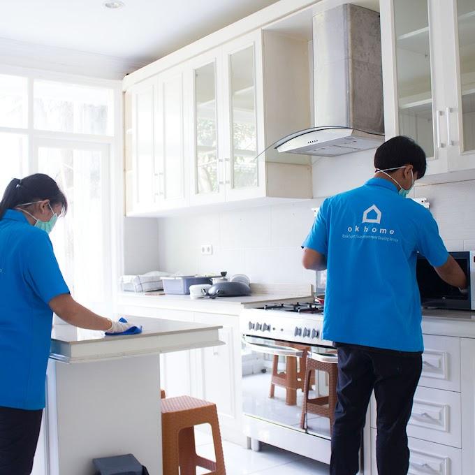 Cari Jasa Bersih-Bersih Rumah? OKHOME Aja!