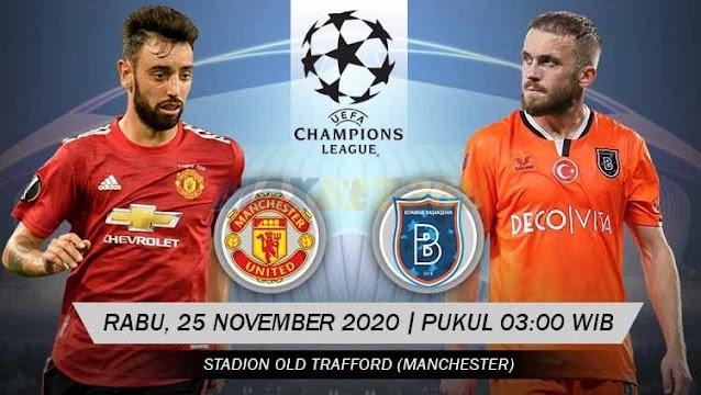 Prediksi Manchester United Vs Istanbul Basaksehir Rabu 25 November 2020 Pukul 03 00 Wib Jurnal Dunia