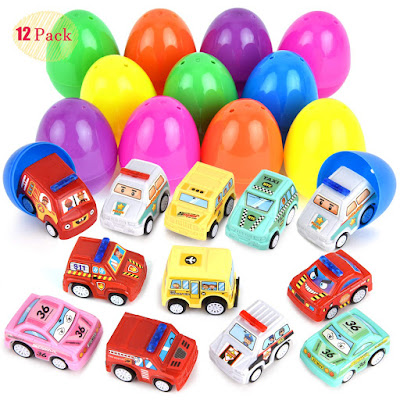 12 Easter Eggs Filled with Toys