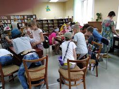 Дети отдыхают школьный лагерь Усмішка НВК № 59 бібліотека-філія №4 М.Дніпро