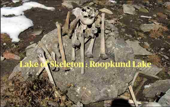 Lake of Skeleton Roopkund Lake