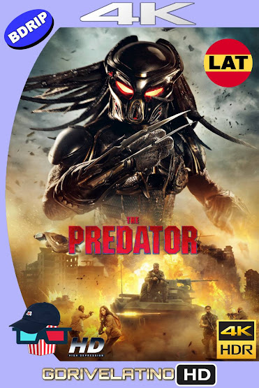 El Depredador (2018) BDRip 4K HDR Latino-Ingles MKV