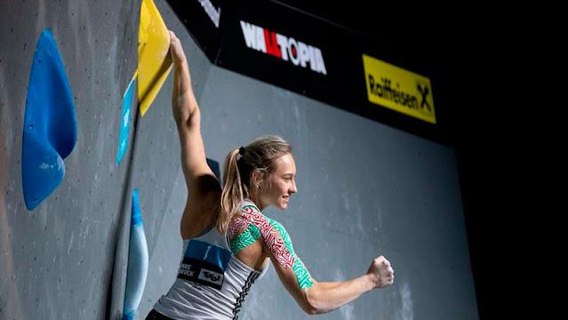 Janja Garnbret é uma das favoritas ao ouro na escalada esportiva em Tóquio 2020