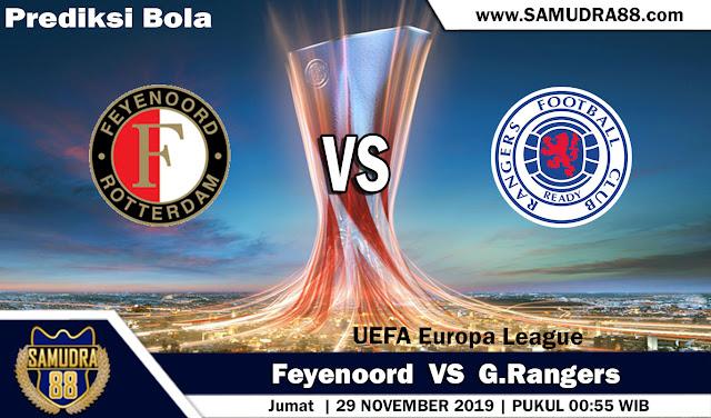Prediksi Bola Terpercaya Liga Europa Feyenoord vs Rangers 29 November 2019