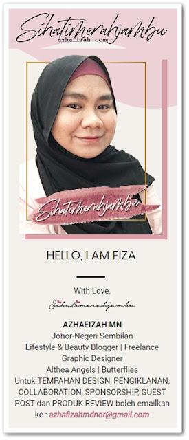 Sahabat blogger pilihan Starlavenderluna : Azhafizah Sihatimerahjambu