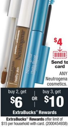 FREE Neutrogena Mascara & Concealer at CVS