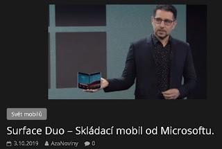 http://azanoviny.wz.cz/2019/10/03/surface-duo-skladaci-mobil-od-microsoftu/