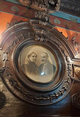 Retrato antigo de casal