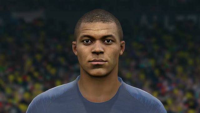 Kylian Mbappe New Face PES 2017
