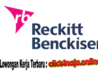 Lowongan Kerja Terbaru PT Reckitt Benckiser Indonesia