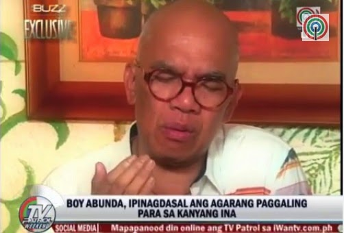 Boy Abunda reveals having abscess in liver, clarifies malicious rumors about his absence