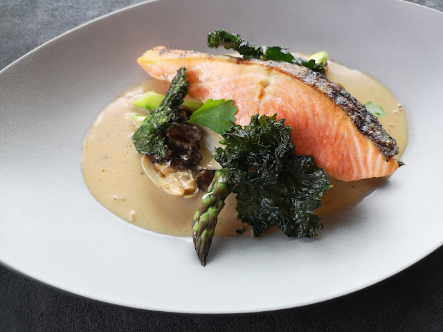 Grilled New Zealand Ora King Salmon