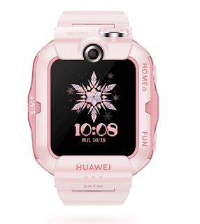ساعة هواوي للأطفال Huawei Children's Watch 4X الإصدارات: NIK-AL00 يُعرف أيضًا باسم Huawei Kids Watch 4X