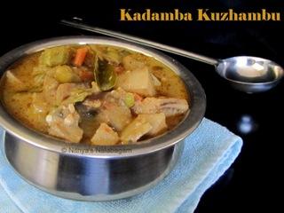Kadamba Kuzhambu