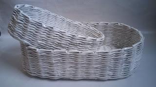 Białe koszyczki